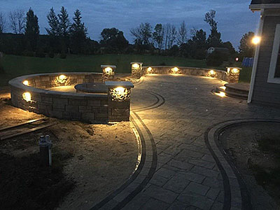 Outdoor Lighting West Bend Cedar Grove New Berlin Menomonee Falls Wi